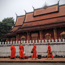 Unesco listed Luang Prabang