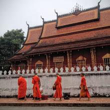 Unesco listed Luang Prabang