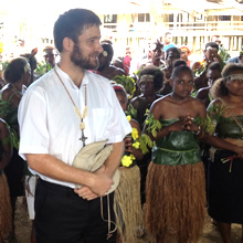 Missionary in the Solomon Islands